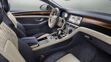 Bentley Continental GT - front seats