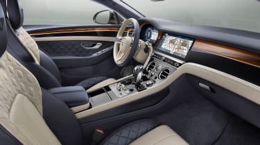 Bentley Continental GT - front seats