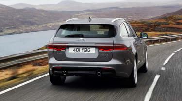 Jaguar XF Sportbrake - full rear