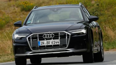 Audi A6 Allroad - front cornering