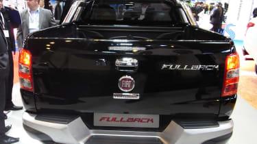 Fiat Fullback pick-up - show rear
