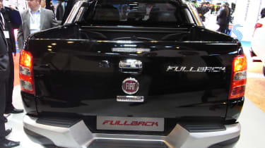 Fiat Fullback pick-up - show rear