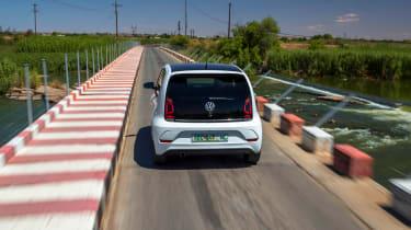 Volkswagen up! GTI prototype - rear tracking 2