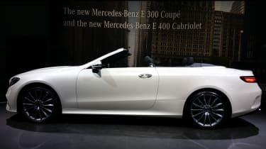 2017 Mercedes E-Class Cabriolet - Geneva side