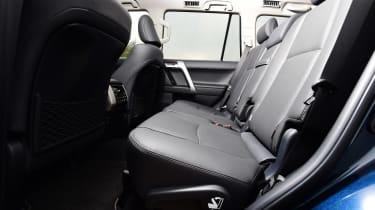 Toyota Land Cruiser - rear seats