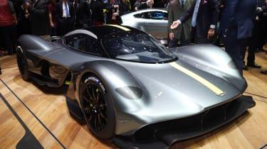 Aston Martin Valkyrie Geneva - front