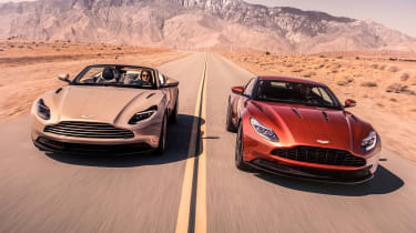 Aston Martin DB11 Volante and Aston Martin DB11