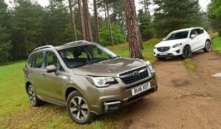 Subaru Forester vs Mazda CX-5 - header
