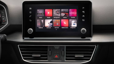 SEAT Tarraco - infotainment