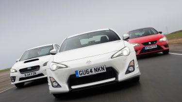 Toyota GT 86 Aero vs rivals