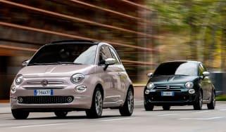 Fiat 500 Star and Rockstar