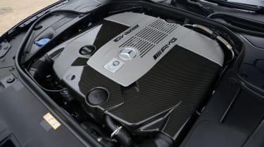 Mercedes S65 AMG engine