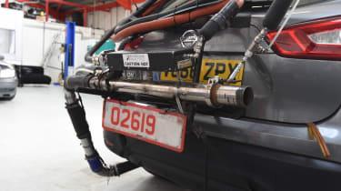 Real world emissions testing