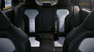 BMW M3 CS - rear seats