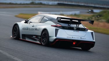 Nissan Leaf Nismo RC - rear track