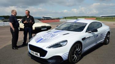 Aston Martin Rapide E - interview