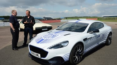 Aston Martin Rapide E - interview