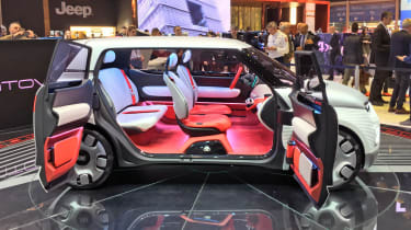 Fiat Centoventi Concept interior