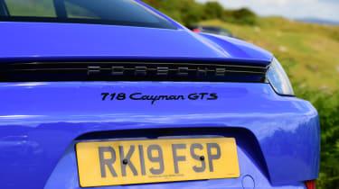 Porsche 718 Cayman - rear