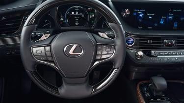 Lexus LS 500h - cabin