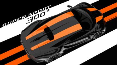 Bugatti Chiron Supersport 300+