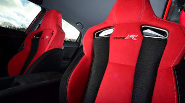 Honda Civic Type R long-term test review - front seats