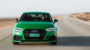 Audi RS3 Saloon 2017 - front tracking 2