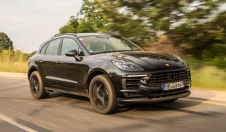 New Porsche Macan 2018 prototype review front quarter