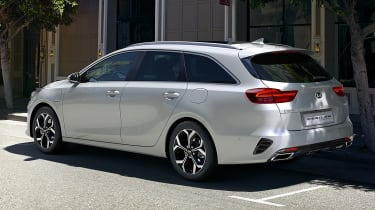 Kia Ceed Sportswagon PHEV - rear 3/4 static