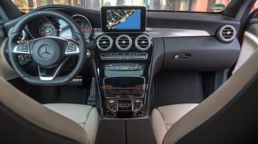 Mercedes C-Class Coupe dashboard