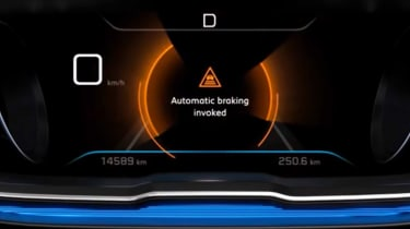 Peugeot 3008 dash display
