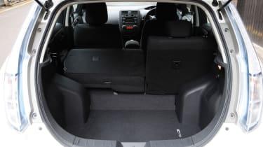Used Nissan Leaf - boot