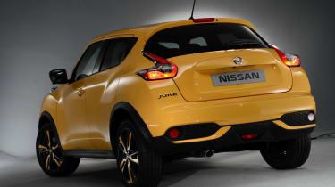 Nissan Juke 2014  rear