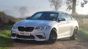 bmw m2 competition static front