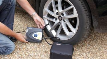 Hibernation feature - tyre pressure