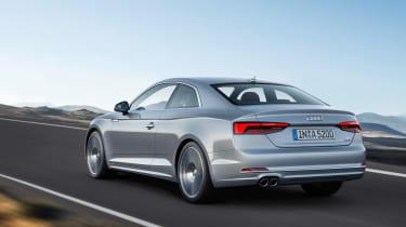 Audi A5 - rear action