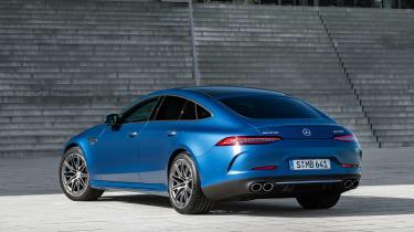 Mercedes-AMG GT 4-Door 2021 facelift blue -