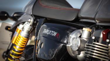 Triumph Thruxton R review - seat