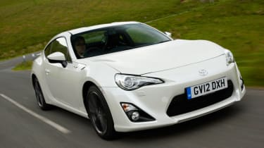 Toyota GT 86 front action