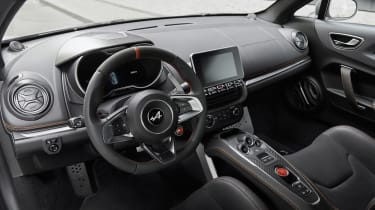 Alpine A110S - dash