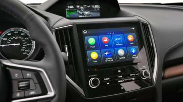Subaru Forester - infotainment