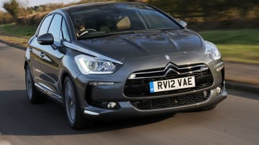 Citroen DS5 HDi front tracking