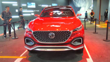MG X-Motion concept front