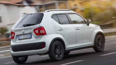 Suzuki Ignis 2016 2WD - rear tracking