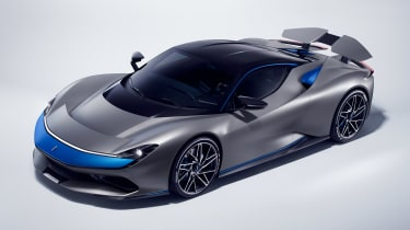 Pininfarina Battista - grey front