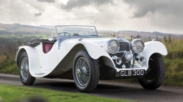 RM Sotheby's 2017 Paris auction - 1941 Jaguar SS 100 front