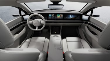 Sony Vision-S concept - dash