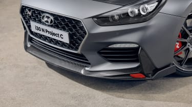Hyundai i30 N Project C - front splitter