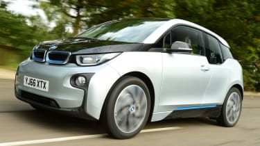 Long-term test review: BMW i3 REx front tracking