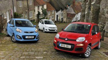 Fiat Panda vs rivals